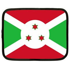 Flag Of Burundi Netbook Case (large)