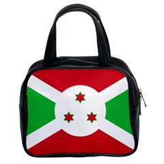 Flag Of Burundi Classic Handbags (2 Sides)