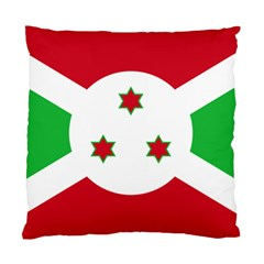 Flag Of Burundi Standard Cushion Case (one Side)