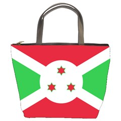 Flag Of Burundi Bucket Bags