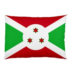 Flag Of Burundi Pillow Case