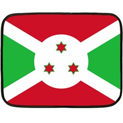 Flag Of Burundi Fleece Blanket (mini)