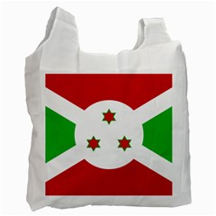 Flag Of Burundi Recycle Bag (one Side)