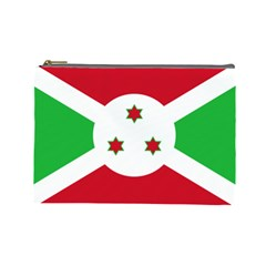 Flag Of Burundi Cosmetic Bag (large)