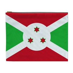 Flag Of Burundi Cosmetic Bag (xl)