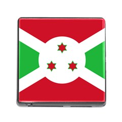 Flag Of Burundi Memory Card Reader (square)