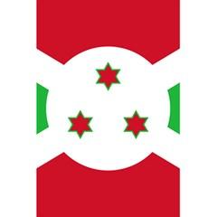 Flag Of Burundi 5 5  X 8 5  Notebooks