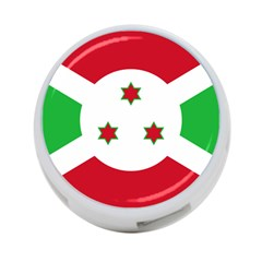 Flag Of Burundi 4 Port Usb Hub (two Sides)