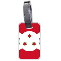 Flag Of Burundi Luggage Tags (two Sides)