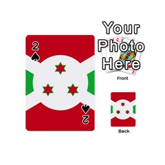 Flag Of Burundi Playing Cards 54 (mini)