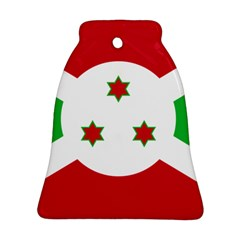 Flag Of Burundi Bell Ornament (two Sides)