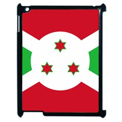 Flag Of Burundi Apple Ipad 2 Case (black)