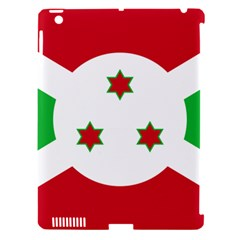 Flag Of Burundi Apple Ipad 3/4 Hardshell Case (compatible With Smart Cover)