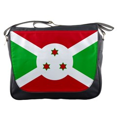 Flag Of Burundi Messenger Bags