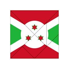 Flag Of Burundi Acrylic Tangram Puzzle (4  X 4 )