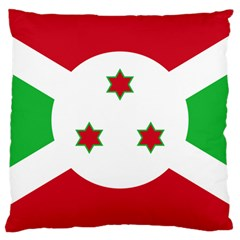 Flag Of Burundi Large Cushion Case (one Side)