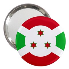 Flag Of Burundi 3  Handbag Mirrors