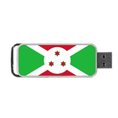 Flag Of Burundi Portable Usb Flash (two Sides)