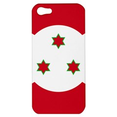 Flag Of Burundi Apple Iphone 5 Hardshell Case