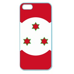 Flag Of Burundi Apple Seamless Iphone 5 Case (color)