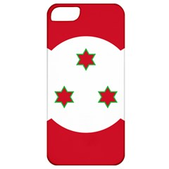 Flag Of Burundi Apple Iphone 5 Classic Hardshell Case