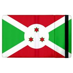 Flag Of Burundi Apple Ipad 2 Flip Case