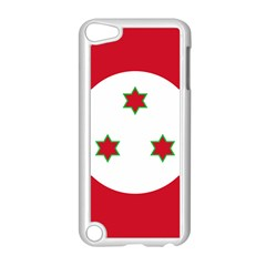 Flag Of Burundi Apple Ipod Touch 5 Case (white)