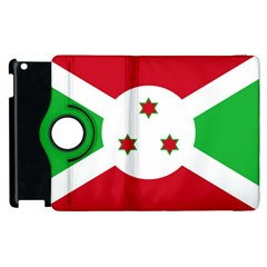 Flag Of Burundi Apple Ipad 2 Flip 360 Case