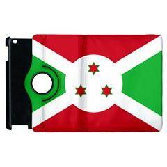 Flag Of Burundi Apple Ipad 3/4 Flip 360 Case