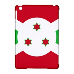Flag Of Burundi Apple Ipad Mini Hardshell Case (compatible With Smart Cover) by abbeyz71