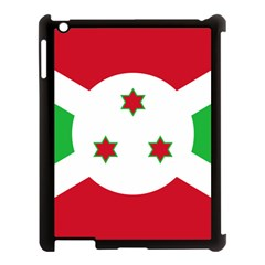 Flag Of Burundi Apple Ipad 3/4 Case (black)
