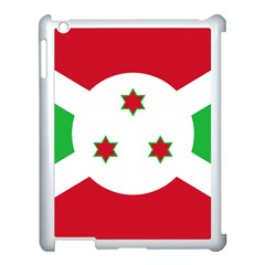 Flag Of Burundi Apple Ipad 3/4 Case (white)