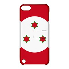 Flag Of Burundi Apple Ipod Touch 5 Hardshell Case With Stand
