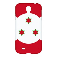 Flag Of Burundi Samsung Galaxy S4 I9500/i9505 Hardshell Case