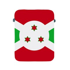 Flag Of Burundi Apple Ipad 2/3/4 Protective Soft Cases
