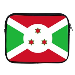 Flag Of Burundi Apple Ipad 2/3/4 Zipper Cases