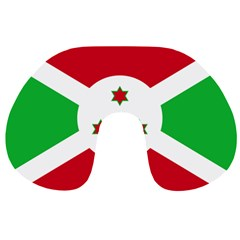 Flag Of Burundi Travel Neck Pillows