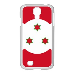 Flag Of Burundi Samsung Galaxy S4 I9500/ I9505 Case (white)