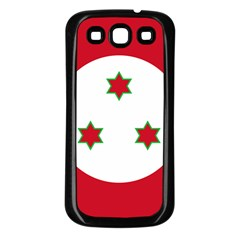 Flag Of Burundi Samsung Galaxy S3 Back Case (black)