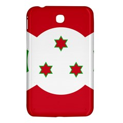 Flag Of Burundi Samsung Galaxy Tab 3 (7 ) P3200 Hardshell Case