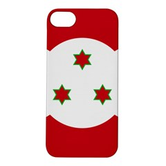Flag Of Burundi Apple Iphone 5s/ Se Hardshell Case