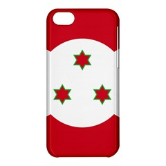 Flag Of Burundi Apple Iphone 5c Hardshell Case