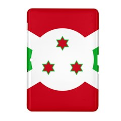 Flag Of Burundi Samsung Galaxy Tab 2 (10 1 ) P5100 Hardshell Case  by abbeyz71