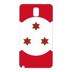 Flag Of Burundi Samsung Galaxy Note 3 N9005 Hardshell Back Case