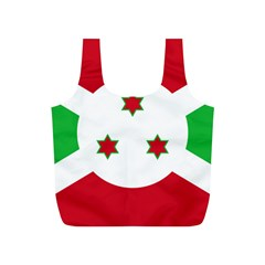 Flag Of Burundi Full Print Recycle Bags (s)