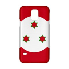 Flag Of Burundi Samsung Galaxy S5 Hardshell Case