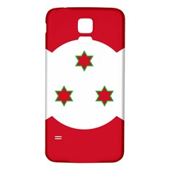 Flag Of Burundi Samsung Galaxy S5 Back Case (white)