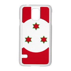 Flag Of Burundi Samsung Galaxy S5 Case (white)