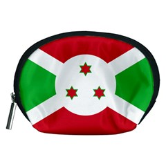 Flag Of Burundi Accessory Pouches (medium)