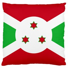 Flag Of Burundi Large Flano Cushion Case (two Sides)